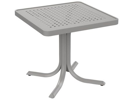 Tropitone Patterned Aluminum – Boulevard 24 Square End Table