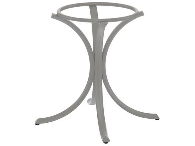 Tropitone Bases Cast Aluminum Round Dining Table Base Only 27 5h