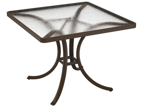 Tropitone Cast Aluminum 36 Square Dining Table