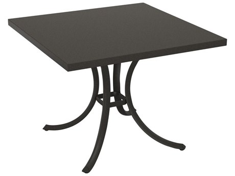 Tropitone Ion Aluminum 36 Square Dining Table