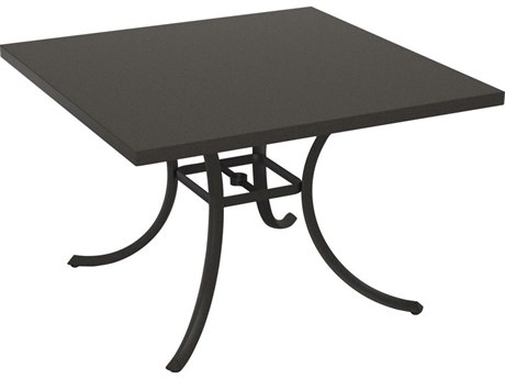 Tropitone Ion Aluminum 42'' Wide Square Dining Table