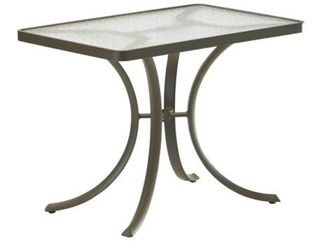 Tropitone Cast Aluminum 36 x 24 Rectangular Dining Table