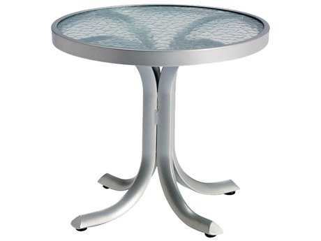 Tropitone Aluminum 20 Round End Table