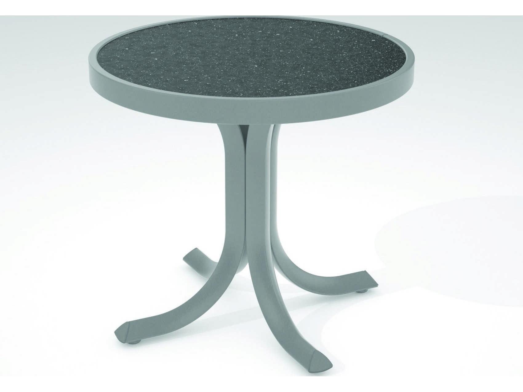 Tropitone Hpl Raduno Aluminum 20 Round Tea Table Tp1882h