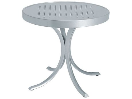 Tropitone Boulevard Aluminum 20 Round Tea Table