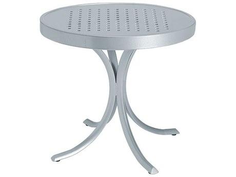 Tropitone Boulevard Aluminum 20''Wide Round Tea Table