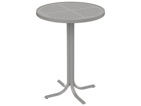 Tropitone Patterned Aluminum – Boulevard 30 Round Bar Table