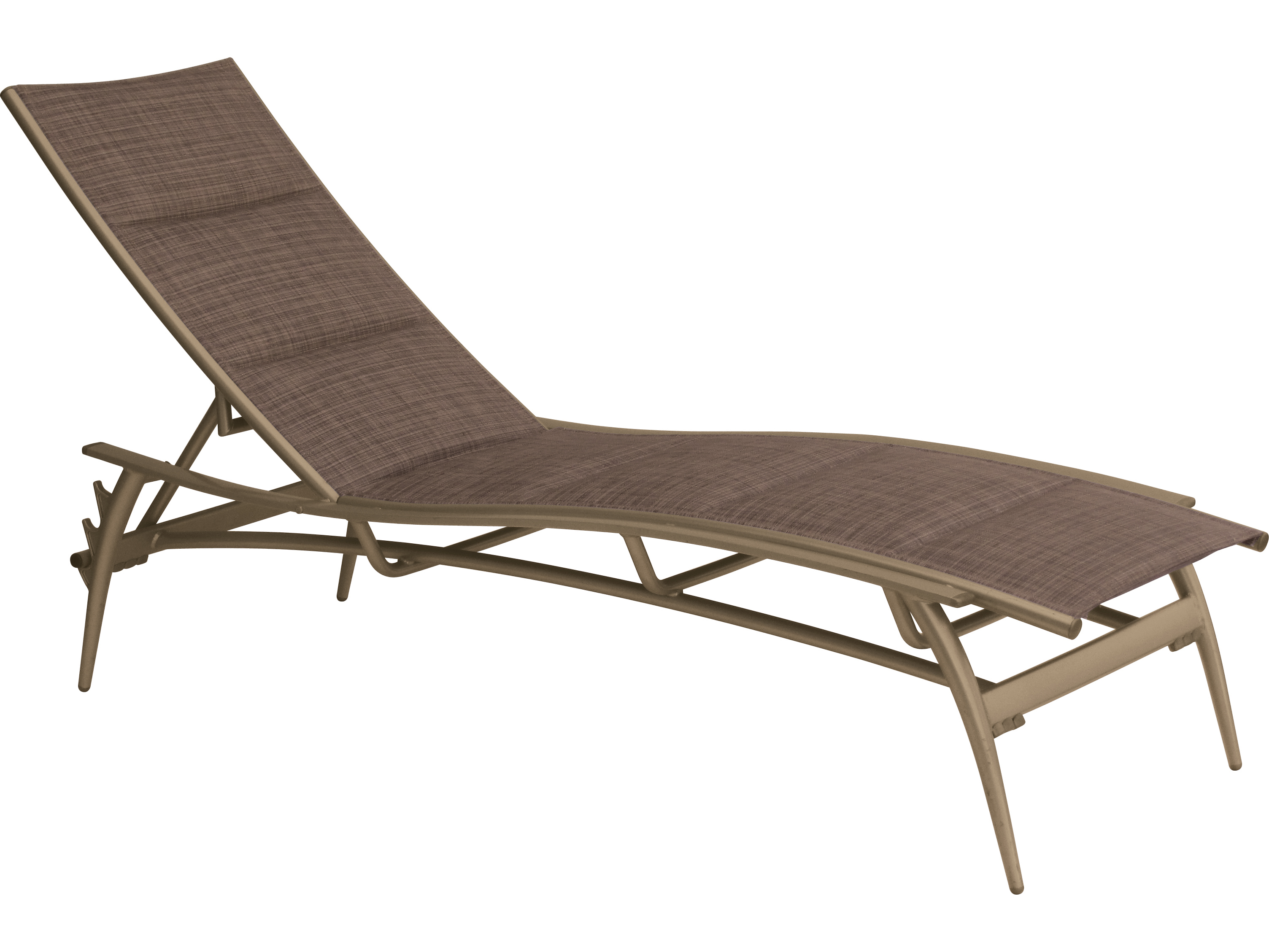 Tropitone echo padded sling aluminum chaise lounge 189932ps for Aluminum chaise lounges