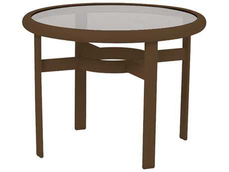 Tropitone Cast Aluminum 24 Round End Table