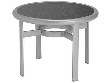 Tropitone Hpl Raduno Aluminum 24 Round Tea Table