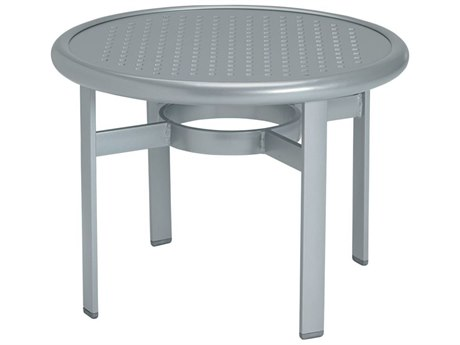 Tropitone Boulevard Aluminum 24 Round End Table