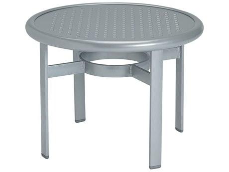 Tropitone Boulevard Aluminum 24 Round End Table