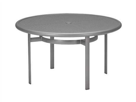 Tropitone Boulevard Aluminum 42 Round Chat Table