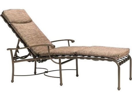 Tropitone Sorrento Cross Strap Extruded Aluminum Chaise