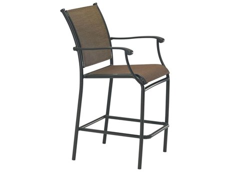 Tropitone Sorrento Relaxed Sling Extruded Aluminum Bar Stool