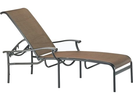 Tropitone Sorrento Relaxed Sling Extruded Aluminum Chaise