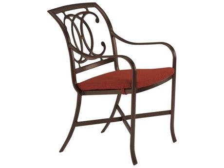 Tropitone Palladian Double C Back Cast Aluminum Dining Chair