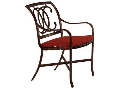 Tropitone Palladian Double C Back Cast Aluminum Dining Chair