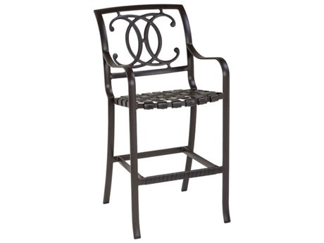 Tropitone Palladian Double C Back Cast Aluminum Bar Stool