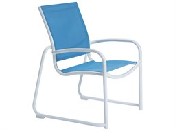 Millennia Relaxed Sling Aluminum Stackable Dining Chair