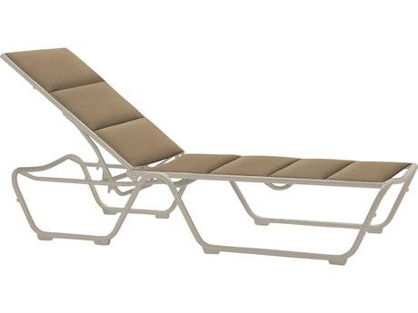 Tropitone Milennia Padded Sling Aluminum Chaise Lounge