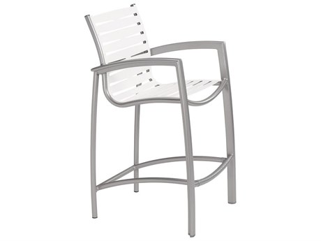 Tropitone South Beach Ribbon Aluminum Bar Stool