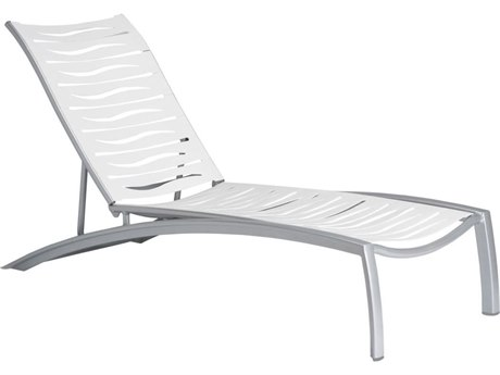 Tropitone South Beach Wave Aluminum Chaise Lounge