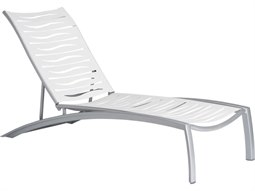 Tropitone South Beach Wave Aluminum Stackable Chaise Lounge
