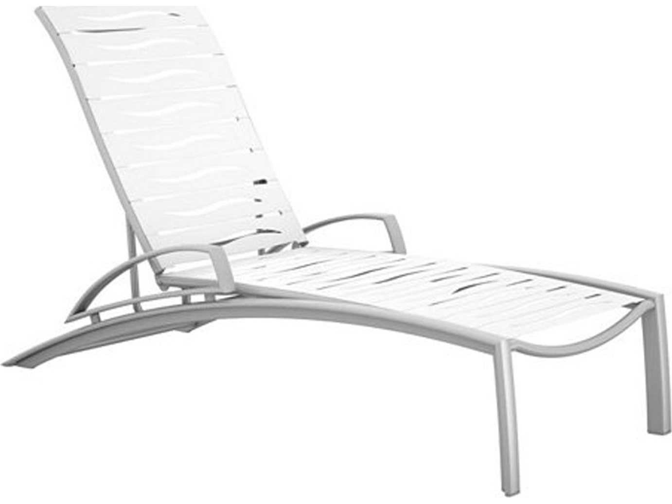 tropitone south beach wave segment aluminum chaise lounge. Black Bedroom Furniture Sets. Home Design Ideas