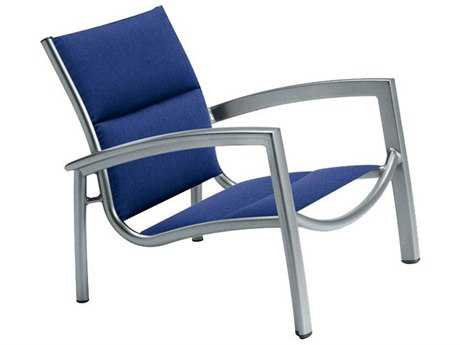 Tropitone South Beach Padded Sling Aluminum Spa Chair PatioLiving