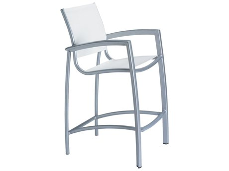 Tropitone South Beach Relaxed Sling Aluminum Bar Stool