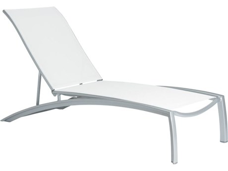 Tropitone South Beach Relaxed Sling Aluminum Chaise