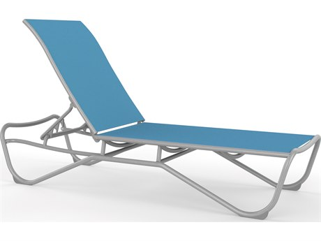 Tropitone Millennia Relaxed Sling Aluminum Stackable Chaise Lounge