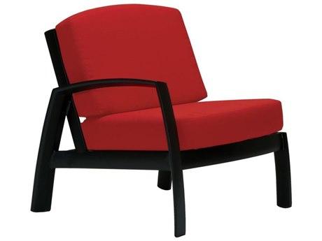 Tropitone South Beach Cushion Aluminum Right Side Module Chair