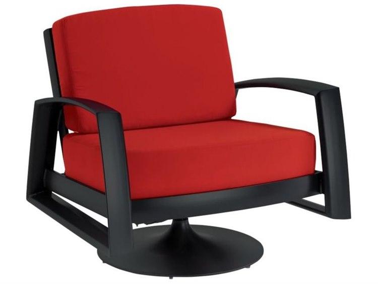 Tropitone South Beach Cushion Aluminum Swivel Lounger
