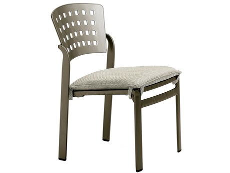 Tropitone Impressions Cafe Aluminum Stackable Dining Side Chair