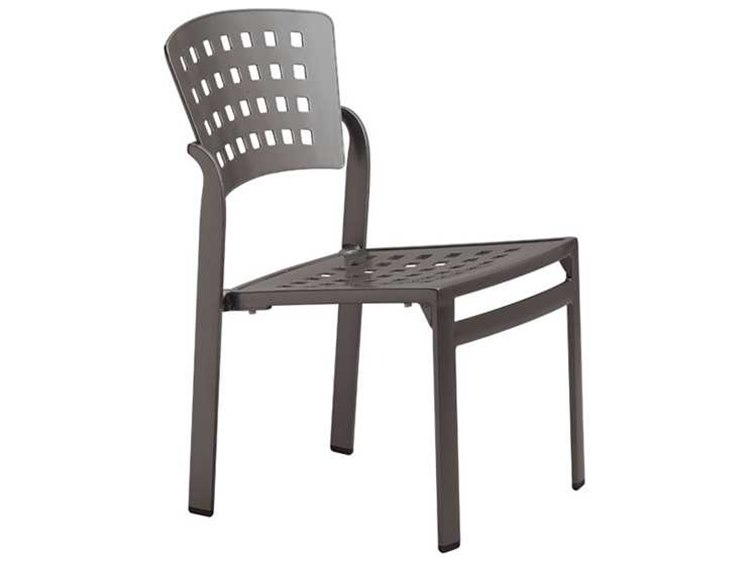 Tropitone Impressions Cafe Aluminum Stackable Dining Side Chair PatioLiving