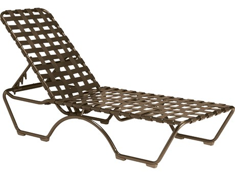 Tropitone Kahana Cross Strap Aluminum Stackable Chaise Lounge TP260532