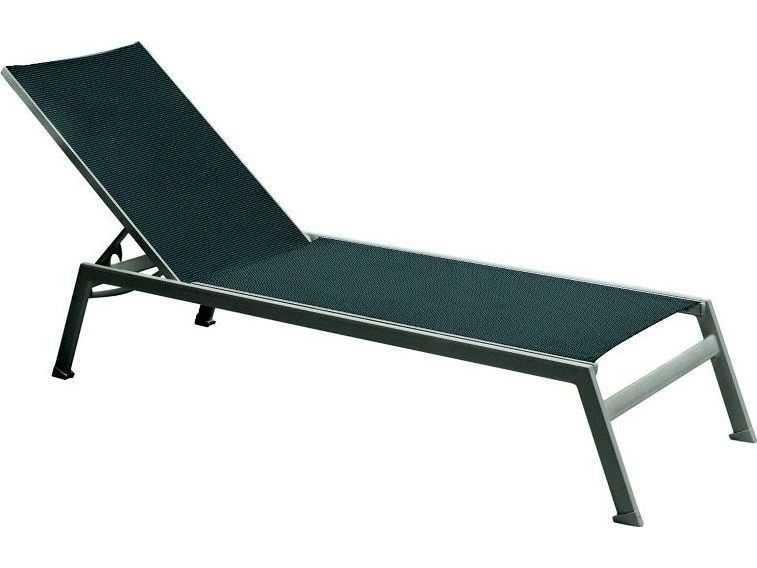 Tropitone valora aluminum sono armless chaise lounge 2a1333 for Armless chaise longue