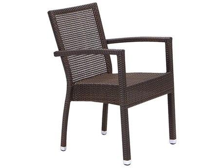 Tropitone Valora Wicker Lucerne Dining Chair
