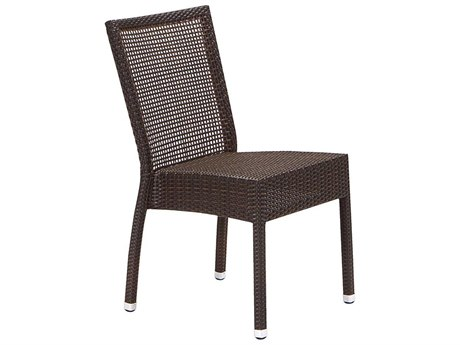 Tropitone Valora Wicker Lucerne Side Chair
