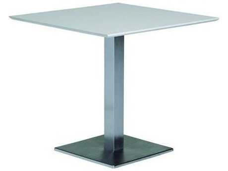 Tropitone Valora  Cast Aluminum 35 Square KD Pedestal Dining Table