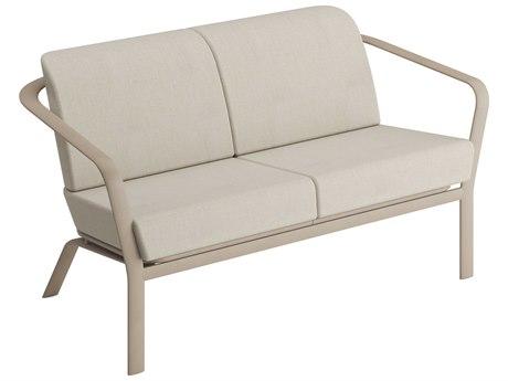 Tropitone Open Cushion Aluminum Loveseat