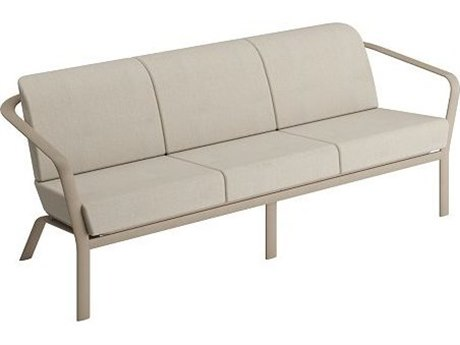Tropitone Open Cushion Relaxplus Aluminum Sofa
