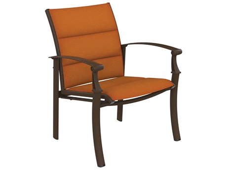 Tropitone Cantos Padded Sling Dining Chair
