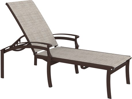Tropitone Cantos Relaxed Sling Chaise Lounge
