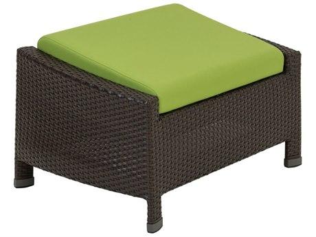 Tropitone Vela Woven Aluminum Cushion Ottoman
