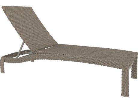 Tropitone Vela Woven Aluminum Chaise Lounge