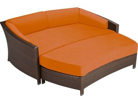 Tropitone Vela Woven Cushion Lounger