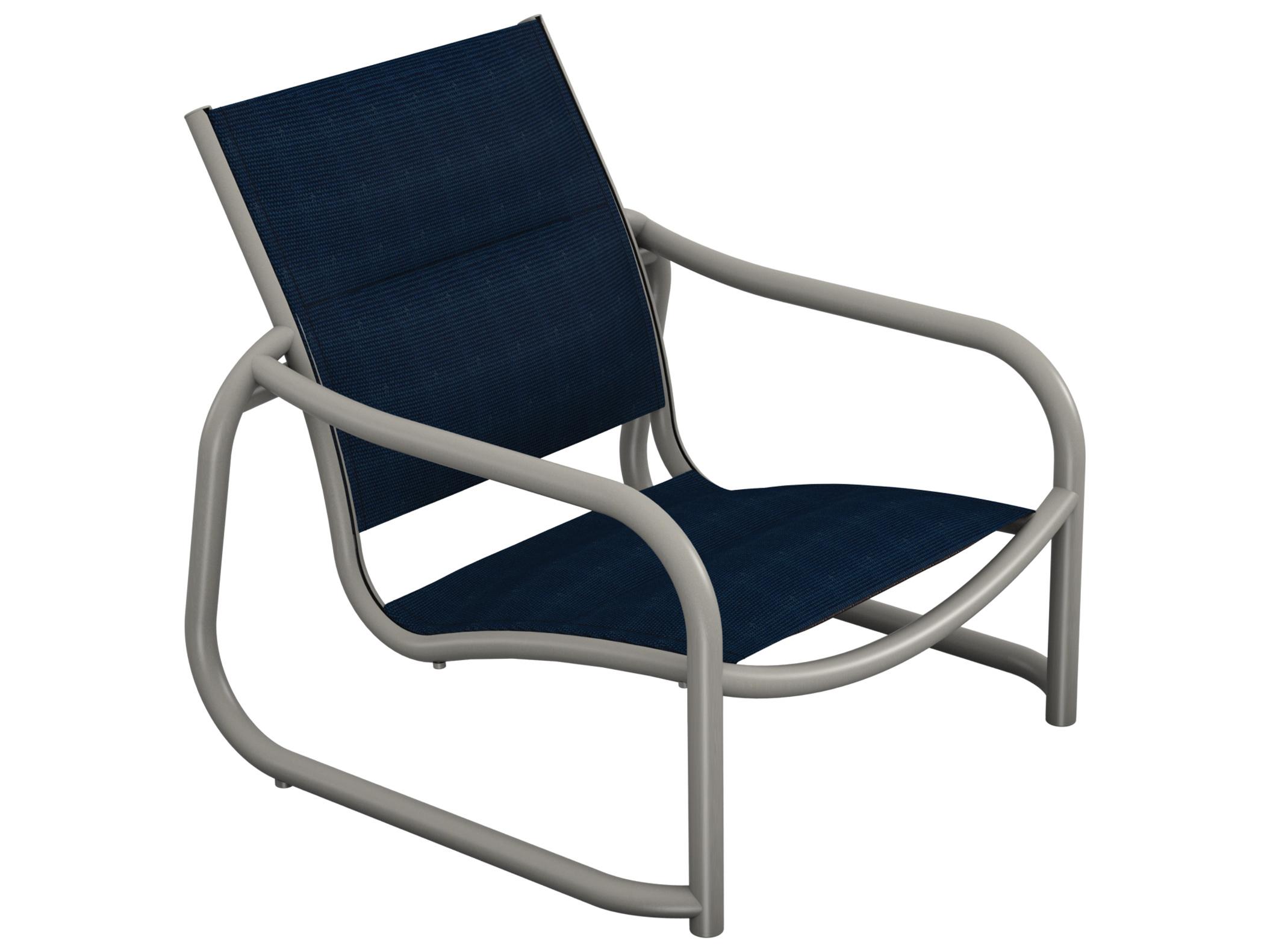 Tropitone La Scala Padded Sling Lounge Chairs 330713ps